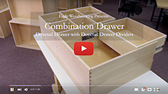 Video: Eagle Woodworking's Combination Double Drawer and Dovetail Drawer Dividers