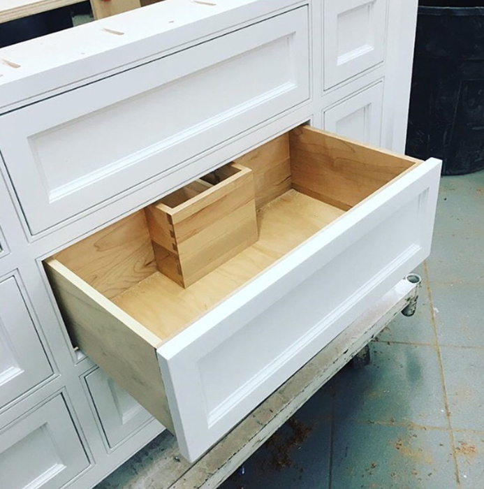 ... Custom built-ins with dovetail file drawers and Blum hardware ... & View our Photo Gallery and browse our videos - Eagle Woodworking