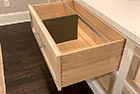 Custom dovetail file drawers