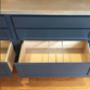Custom built-ins with dovetail file drawers and Blum hardware