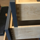 Engraved dovetail drawer